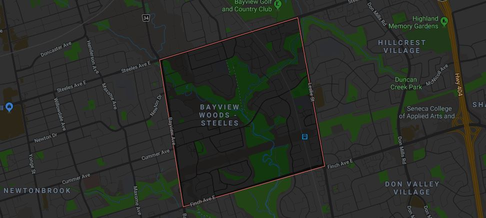 Bayview Woods-Steeles